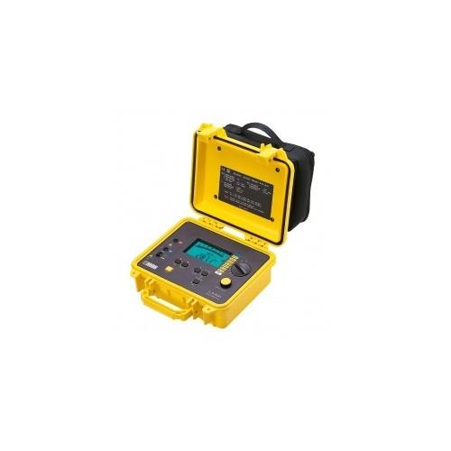 CONTROLEUR D'ISOLEMENT NUMERIQUE AVEC BARGRAPHE 50V A 1kV EN BOITIER CHANTIER C.A 6541