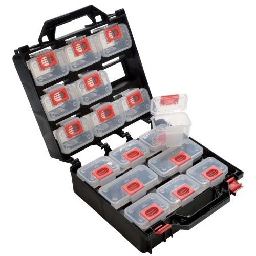 Boite de rangement 17 cases pour petites pièces