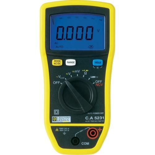 Multimètres numériques C.A 5231
