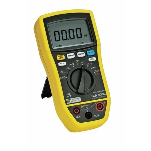 Multimètre numérique C.A 5233