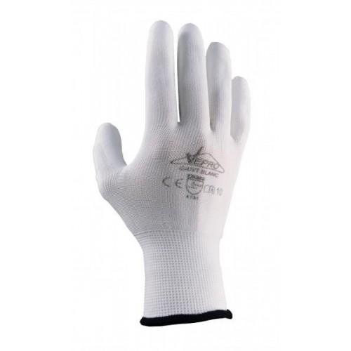 Gant blanc