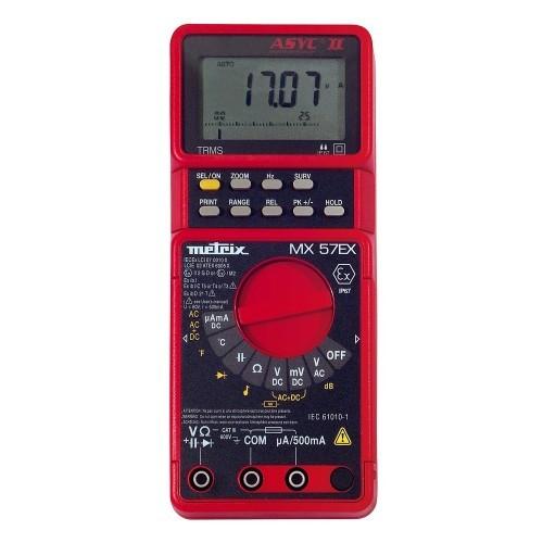 Multimètre pour environnements difficiles MX 57EX