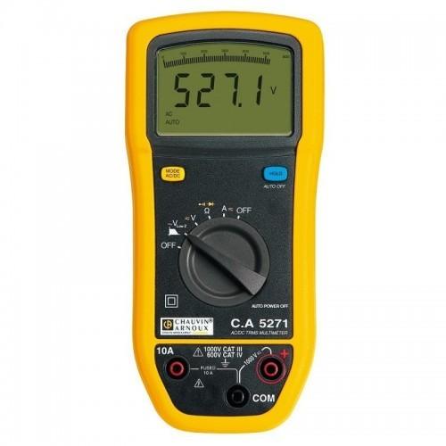 Multimètre numérique TRMS C.A 5271