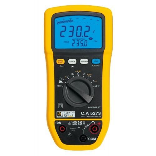 Multimètre numérique TRMS C.A 5273