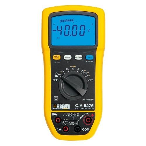 Multimètre numérique TRMSC.A 5275