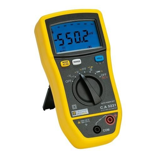 Multimètre numérique C.A 5231 KIT