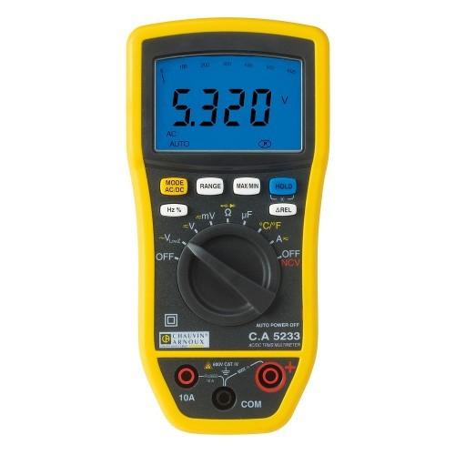 Multimètre numériqueC.A 5233