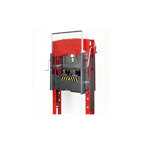 Protection frontale pour presse hydraulique