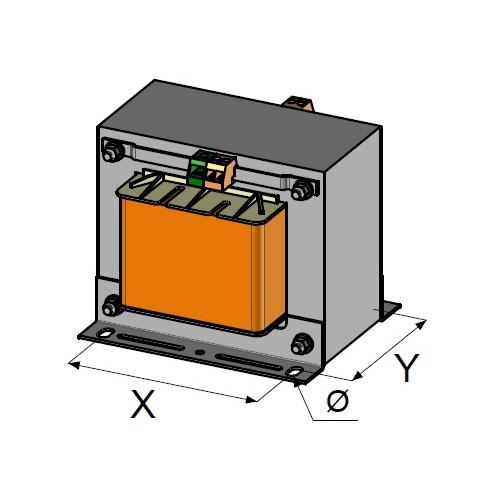 Transformateurs monophases nus 1.6 KVA