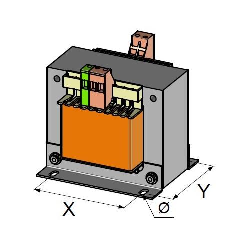 Transformateurs monophases nus 0,63 KVA