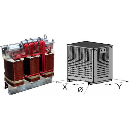 Transformateurs triphase abrités 6,3 KVA