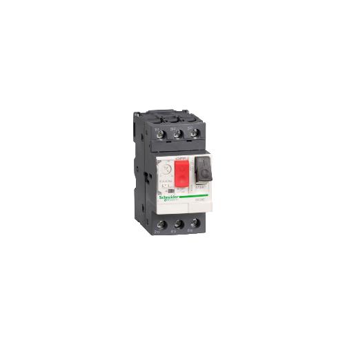 disj. moteur - 1,6..2,5A - 3P 3d - déclencheur magnéto-thermique