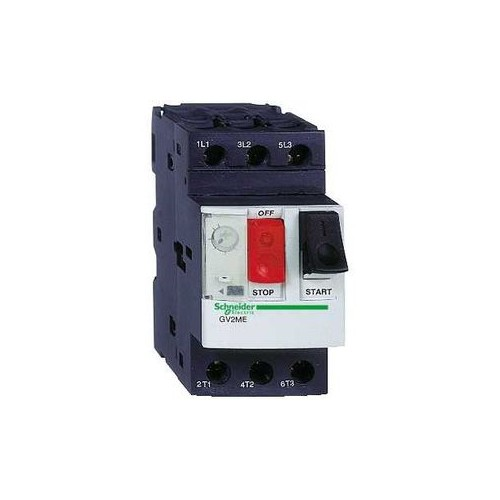 disj. moteur - 6..10A - 3P 3d - déclencheur magnéto-thermique