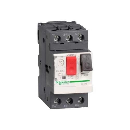 disjoncteur moteur 0,37 KW 3P  déclencheur magnétothermique - GV2ME04
