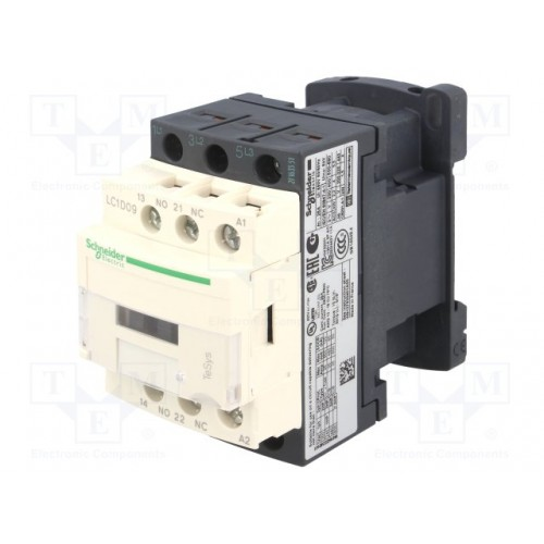 contacteur - 3P - AC-3 440V - 9A