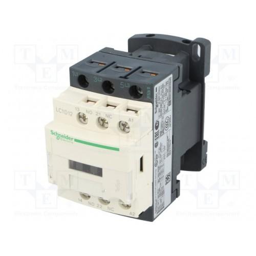 contacteur - 3P - AC-3 440V - 12A - LC1D12B7