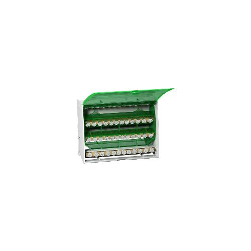Intensité maximale 125A - 4X12 trous