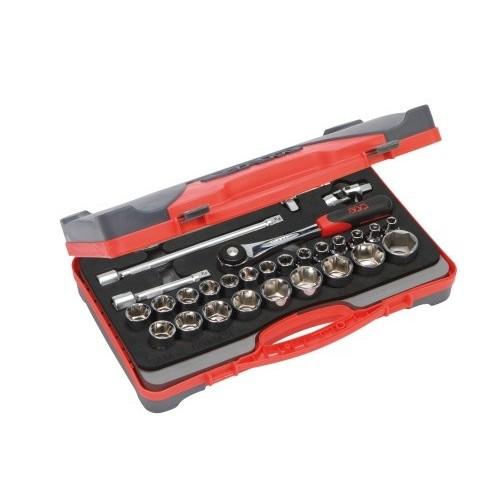 Coffret de 27 outils et accessoires 1/2'